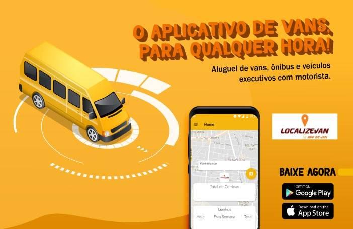 App de aluguel de vans - Localize Van